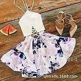MENSDXA Abito Summer Wild Women's New Tube Top Strapless Back Print Dress,XL,White