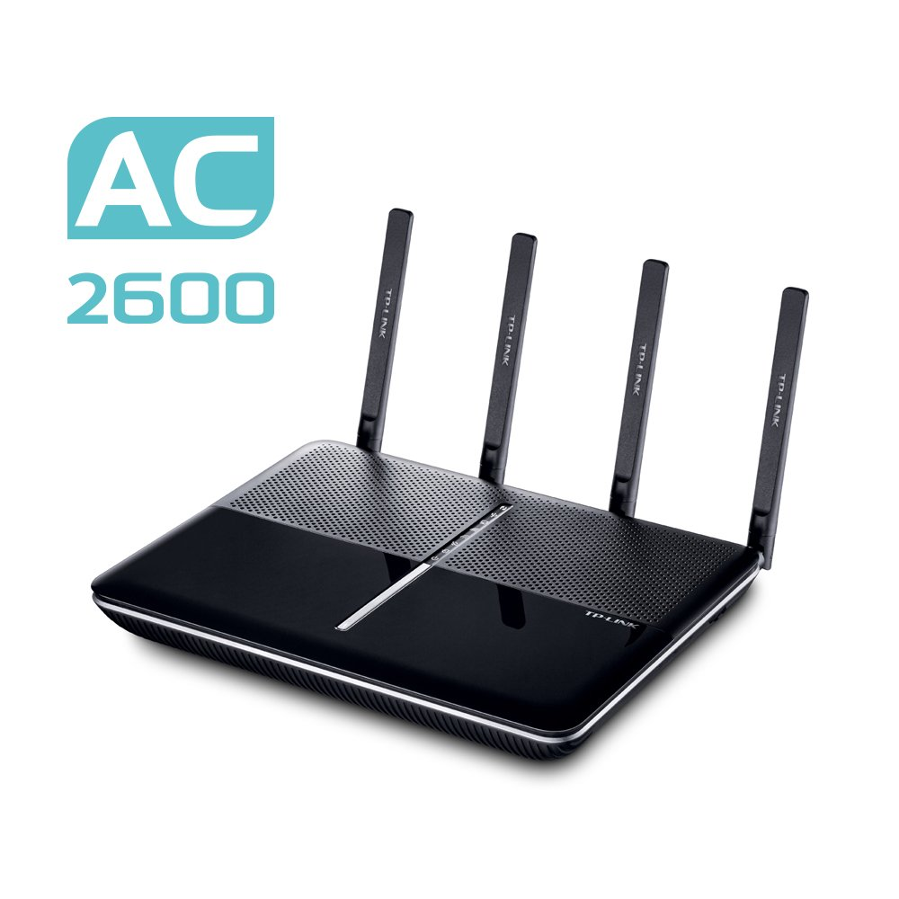 TP-Link Archer VR2600 Wireless Gigabit VDSL/ADSL Modem Router (geeignet für Österreich/Schweiz, nicht in Deutschland…