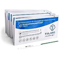 10x Telano Schwangerschaftstest Streifen Frühtest 10mIU/ml | Schwangerschaftstest Frühtest zur Frühen Erkennung einer…