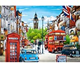 alles-meine.de GmbH Puzzle 1500 Teile -  London - Big Ben / England  - Zeichnung / Gemälde - Lon..