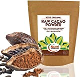 RAW Organic Cacao Powder | Full of Magnesium Rich Superfood | Highly Nutritious Vegan Protein | Premium Quality Unsweetened | Non Dairy Dark Chocolate Ingredient | Versatile and Ideal for Baking | Power Smoothies | Raw Energy Bars | 200g | By Nutri Superfoods