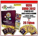 Panini - UEFA EURO EM 2012 - STARTER-SET / HARD-COVER-ALBUM + 25