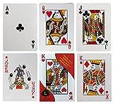 Diverse 3 x XXL Karten Kartenspiel 54 Blatt Mau Mau Schafkopf Schwimmen Poker
