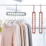 Unicron Multi-Function Storage Rack Magic Rotating Anti-Skid Folding Drying Rack Portable Hanging Household Wet and Dry…