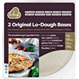 2 Original Lo-Dough Bases - The Incredibly Low Calorie Bread & Pastry Alternative. Only 39 Calories, Gluten Free, Low…