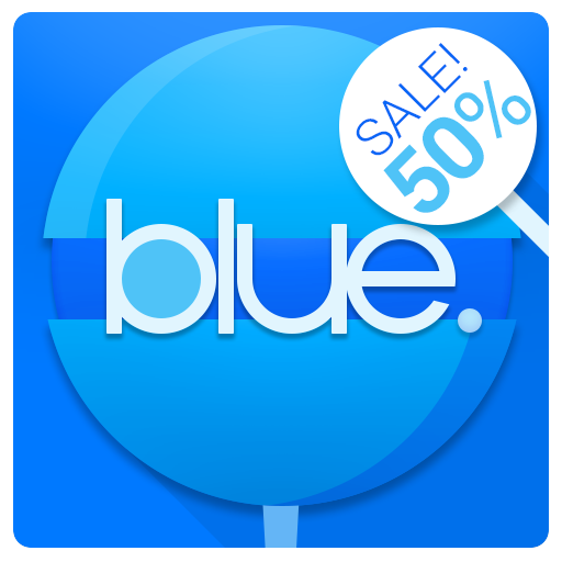 BLUE - Icon Pack: Amazon co uk: Appstore for Android