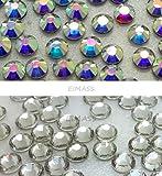 1440 x Factory Direct EIMASS® Flat Back DMC Non Hot Fix Glass Crystals Rhinestones