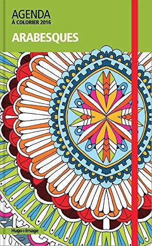 Agenda à colorier 2016 - Arabesques