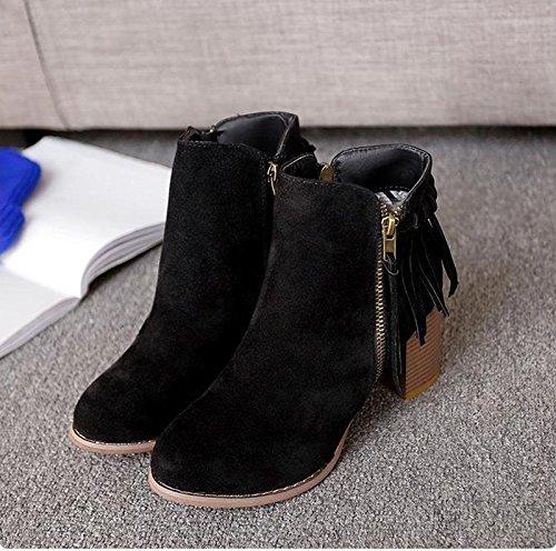 Zapatos negros de otoño Victoria unisex g0r9G70VXR