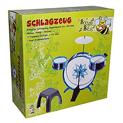 Vedes 68303991 Batterie Boogie Bee pour enfant avec tabouret