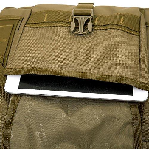 F@Digital Camo Borsa a tracolla in nylon impermeabile militari appassionati, borse Messenger borsa tattica portatile uomo , A A