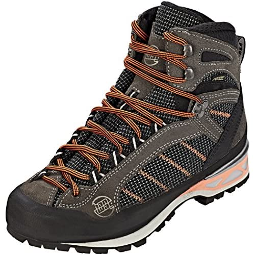 Hanwag Makra Combi GTX Shoes Women Grey/Orange 2019