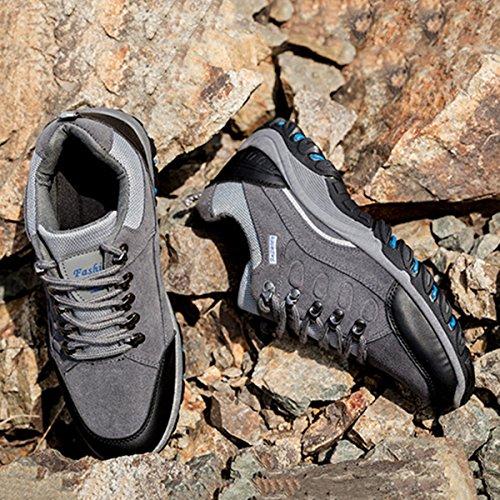 Scarpe da corsa uomo, Gracosy Scarpe da Corsa Sportive Casuale all'Aperto Scarpe da ginnastica Soft mesh per donne e uomini Unisex-Adulto Gris