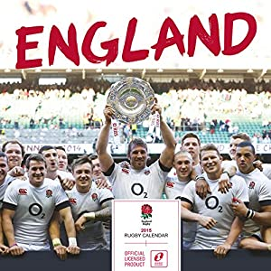 Official England Rugby Union 2015 Wall Calendar (Calendars 2015)