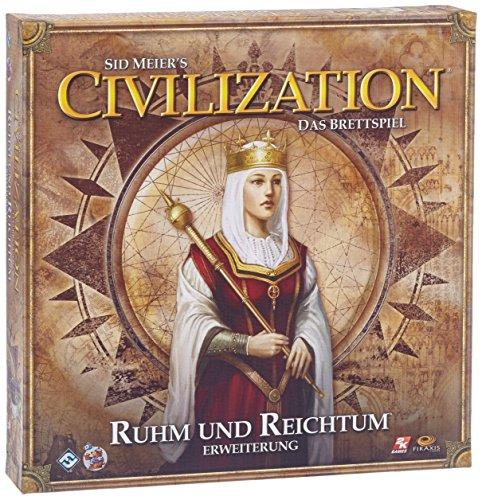Heidelberger Spieleverlag HE428 - Civilization: Ruhm und Reichtum, Pack de ampliación del Juego de Mesa [Importado de Alemania]