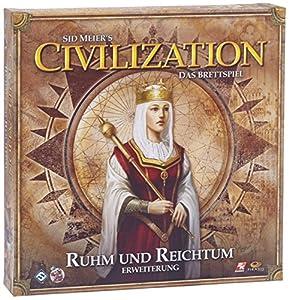 Heidelberger Spieleverlag HE428 - Civilization: Ruhm und Reichtum, Pack de ampliación del Juego de Mesa Importado de Alemania