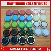 100pcs/lot Silicone Cap Thumb Stick Grip Cap Cover Thumbsticks Joystick Caps Cover For PS4/XBOX ONE/XBOX360/PS3