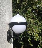 Kugel Garten Wandlampe Aussenleuchte Lampe Leuchte Gartenleuchte Wandleuchte