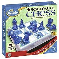 Ravensburger-76325-ThinkFun-Solitaire-Chess-Spiel-Smart-Game ThinkFun 76325 – Soitaire Chess® – das fesselnde Denkspiel - Start -