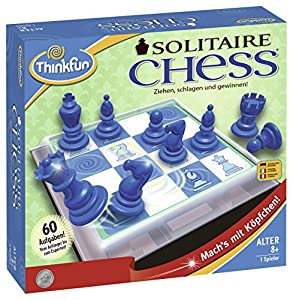Ravensburger 76325 ThinkFun Solitaire Chess Parte