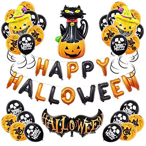 Halloween KTV Mall Tema Evento Decorazione? Palloncini in Lattice Pacchetto di Decorazioni Pacchetto Bar Palloncino for Feste Completo di Bar KTV