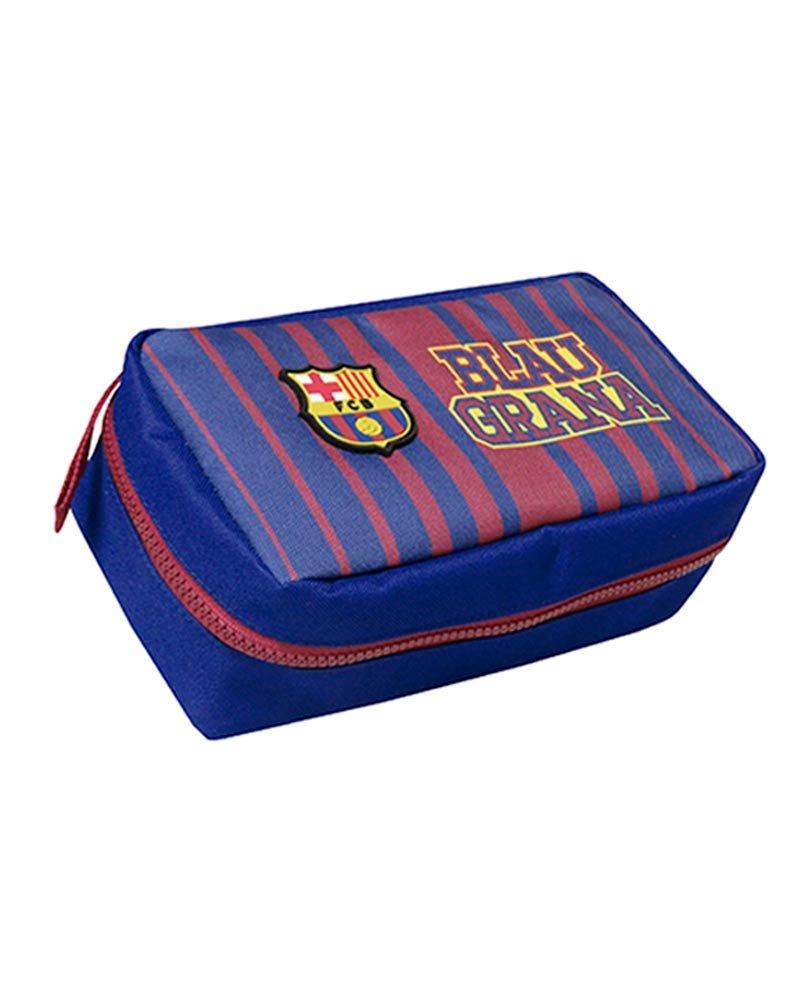 FC Barcelona PT-684-BC Portatodo 3 en 1 con Material Escolar