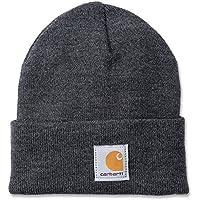 Carhartt Watch Hat Bonnet de travail, Taille unique, gris foncé
