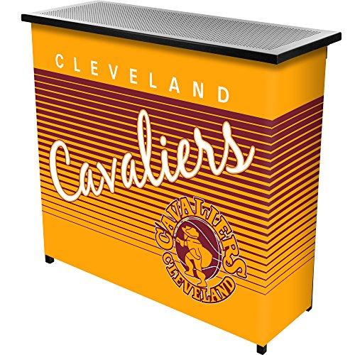 Trademark Gameroom NBA Cleveland Cavaliers Portable Bar mit Fall, One size, Schwarz