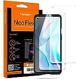 Spigen, 2 stuks, Screenprotector compatibel met OnePlus 8 Pro, NeoFlex, Case friendly, TPU-film, waterinstallatie, full cover