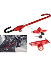 Dhe Best ST-L6 Car Universal Anti Theft Car Steering Wheel Lock Security System with 2 Keys for Maruti Swift Dzire New