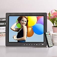 "Epyz HD Ready Digital Photo Frame With Fully Functional Remote (10""inch, Black)"