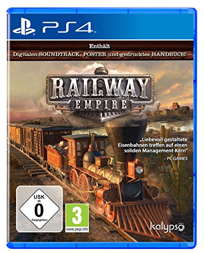Railway Empire [Playstation 4] (Playstation 4-strategie-guides)