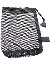 Forfar Porte sac de golf Balles de tennis Sac de golf Mesh Nets Balles de golf de stockage Fermeture aide à la formation