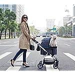 IbiyayaExpress Travel System Denim Pet Stroller 13