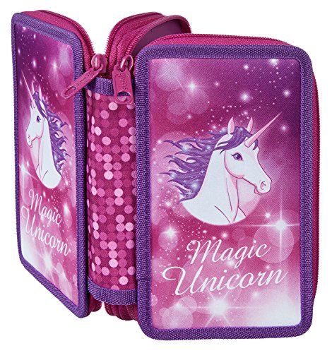 Scooli UNFI7252 Sporttasche Magic Unicorn, ca. 35 x 16 x 24 cm Doppeldecker