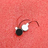 Alcoa Prime 2PCS Pager and Cell Phone Mobile Coin Flat Vibration Micro motor DC 3V 10mm