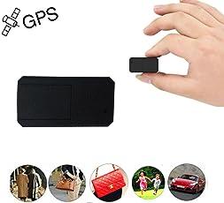 Mini GPS Tracker, TKSTAR Anti Dieb Mini Echtzeit GPS Tracker Portable GPS Ortung Anti Verlust GPS Locator für Geldbörse Tasche Brieftasche Taschen Kinder Schulranzen Wichtige Dokumente Verlorener Sucher mit App für iOS und Android TK901