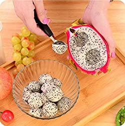 Omeny Stainless Steel Mini Double-headed Fruit Dug Ball Spoon
