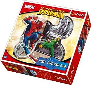 TREFL 39079 - Puzzle con forma de Spiderman (220 piezas)