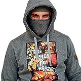 PG Wear Hoodie in verschiedenen Motiven und Farben S-XXXL (M, No Pyro No Party grau)