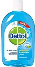 Dettol Disinfectant Liquid - 200 ml (Menthol Cool)