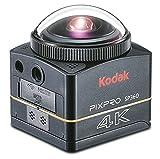 Kodak PIXPRO SP360 4K Aqua - Cámara Deportiva (Tarjeta de Memoria, CMOS, Ión de Litio, 3840 x 2160 Pixeles, JPG, 1280 x 720,1920 x 1080,3840 x 2160