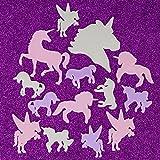 Unicorn Glow In The Dark Stickers 14 Pcs Decal Wall Art