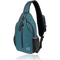 Waterfly Zaino Monospalla Sling Bag: Sportivo Borsello Monospalla Zaini Petto per Trekking Viaggio Lavoro Scuola Borsa…