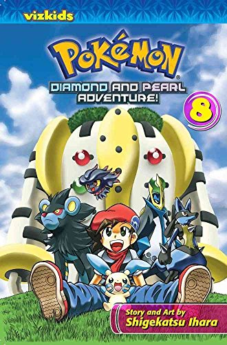 [Pokemon Diamond & Pearl Adventure: 8] (By: Shigekatsu Ihara) [published: August, 2014]