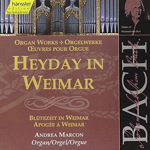 Edition Bachakademie Vol. 92 (Blütezeit in Weimar)