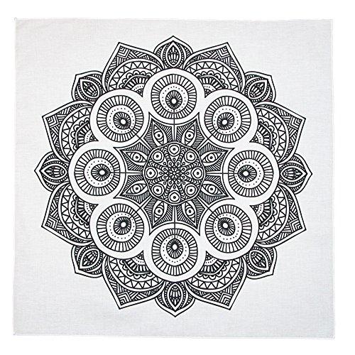 CTM Mandala Print Coloring Bandala Bandana