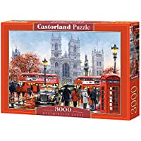 Castorland Westminster Abbey 3000 pcs 3000pieza(s) - Rompecabezas (Jigsaw puzzle, Ciudad, Niños y adultos, 9 año(s), Niño/niña, Interior)