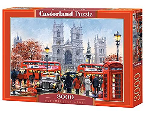 Castorland Carbon 300440 2 Westminster Abbey 3000 Piece Jigsaw Puzzle