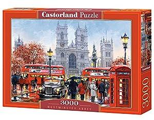 Castorland Westminster Abbey 3000 pcs Puzzle - Rompecabezas (Puzzle Rompecabezas, Ciudad, Niños y Adultos, Niño/niña, 9 año(s), Interior)